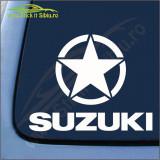 Suzuki - Stickere Auto -Cod: MOV-066-Dim: 25 cm. x 19.5 cm.