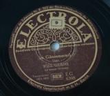 Disc ebonita patefon - gramofon Electrola -Will Glahe Im Gansemarsch, VINIL