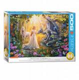 Cumpara ieftin Puzzle Eurographics - Princess' Garden, 500 piese XXL