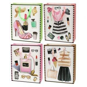 Set 4 pungi 3D cadou pentru femei-L 1 foto