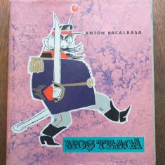 MOS TEACA- ANTON BACALBASA, 1966, ILUSTRATA DE EUGEN TARU