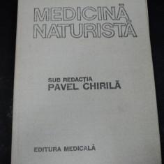 MEDICINA NATURISTA 1987-DR.PAVEL CHIRILA