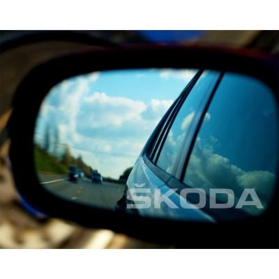 Stickere oglinda Etched Glass - Skoda foto