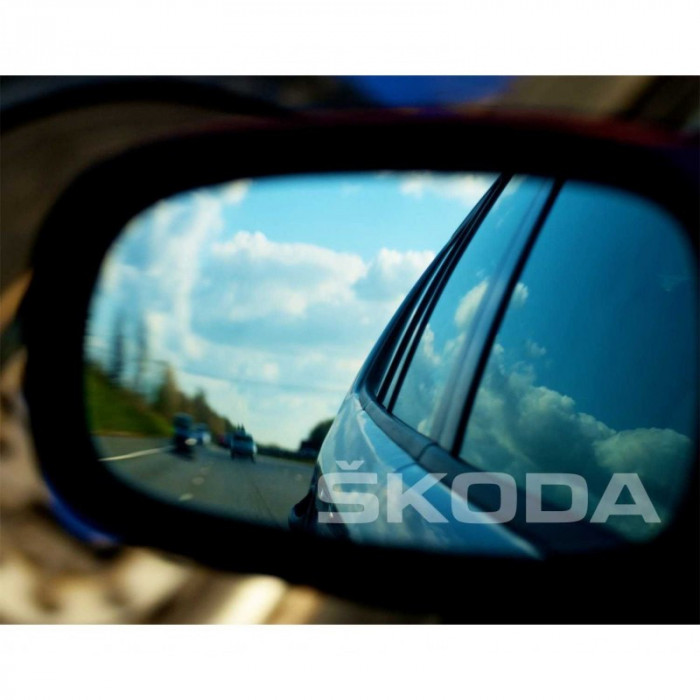 Stickere oglinda Etched Glass - Skoda