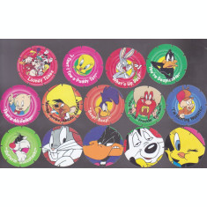bnk crc Cartonase de colectie - Tazo - Desene animate  - 44 diferite