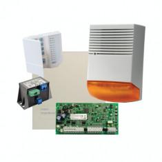 Kit profesional alarma la efractie DSC cu sirena exterioara