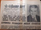 Romania libera 29 noiembrie 1988-cuvantarea lui ceausescu la plenara PCR