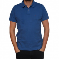 Tricou Tommy Hilfiger True Navy Slim Fit, Slim Fit, culoare Albastru, marime M
