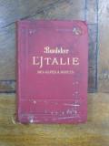 ITALIEN VON DEN ALPEN BIS NEAPEL KURZES REISENHANDBUCH von KARL BAEDEKER 1926