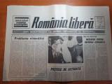 """Ziarul romania libera 12 aprilie 1990-articolul """" pastele de altadata """""""