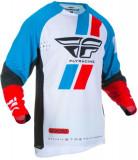 Cumpara ieftin Bluza off-road FLY RACING Evolution DST culoare negru albastru rosu, marime 2XL