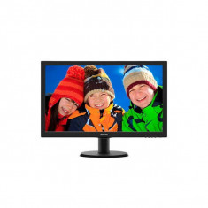 Monitor LED Philips 243V5LHSB 23.6 inch Full HD 1ms Black