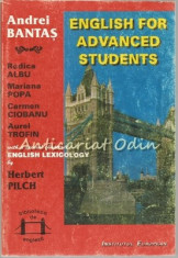 English For Advanced Students - Andrei Bantas, Rodica Albu, Mariana Popa foto