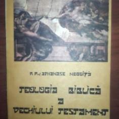 Teologia biblica a Vechiului Testament- Athanase Negoita