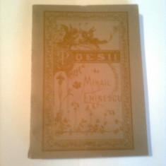 POESII  ~ MIHAIL EMINESCU - REEDITARE ANASTATICA( contine 60 de POEZII )