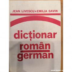dictionar roman german