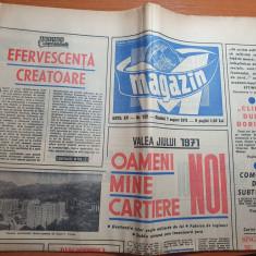magazin 7 august 1971-hanul lui manuc si-a redeschis portile,art lupeni,vulcan