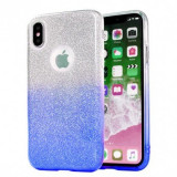 Husa Jelly Color Bling Huawei P20 Lite 2019 Blue