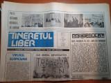 ziarul tineretul liber 30 ianuarie 1990-demonstratie in piata universitatii