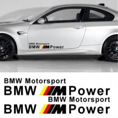 Sticker auto laterale BMW M Power (v2)