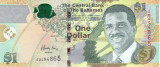 Bancnota Bahamas 1 Dolar 2015 - P71A UNC