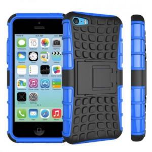Husa Apple iPhone 5iPhone 5SiPhone SE Forcell Hybrid Panzer Albastru