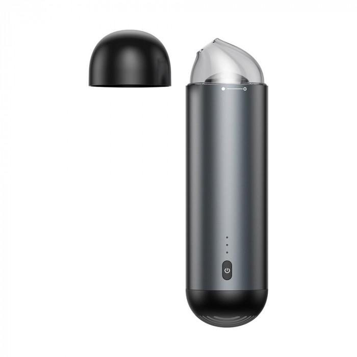 Aspirator Auto Baseus, Capsule Mini, Wireless, Negru