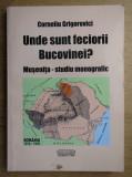 Corneliu Grigorovici - Unde sunt feciorii Bucovinei? Musenita cu dedicatia aut.