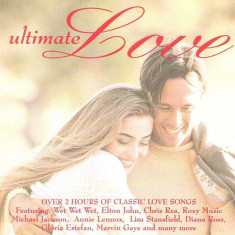 2 CD  Ultimate Love: Michael Jackson, Billy Ocean, Gloria Estefan, Chris Rea