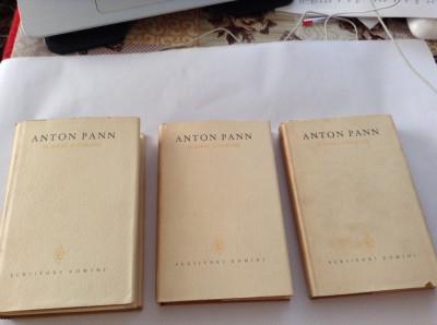 ANTON PANN - SCRIERI LITERARE 3 volume---RF10/4 foto