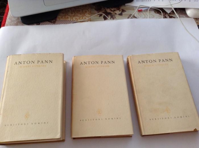 ANTON PANN - SCRIERI LITERARE 3 volume---RF10/4