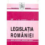Legislatia Romaniei, 1 iulie - 30 septembrie 1997, vol. 3