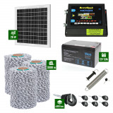 Pachet Gard electric 6,6j putere cu Panou Solar si 3000m de fir 120Kg