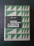 ANDREI GLUCK - METODE MATEMATICE IN INDUSTRIA CHIMICA