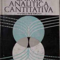 Chimie Analitica Cantitativa Volumetria - C. Liteanu ,528214