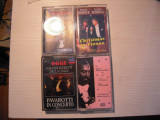 LOT de 4 casete audio inregistrate (2 Placido Domingo, 2 Luciano Pavarotti)
