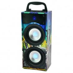 Boxa bluetooth portabila, FM, SD, USB, AUX, 20 W