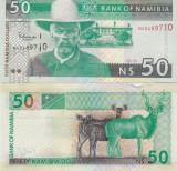 Namibia 50 Dollars 2003 UNC