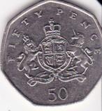 Marea Britanie 50 pence 2013 comemorativ - Chr. Ironside, Europa
