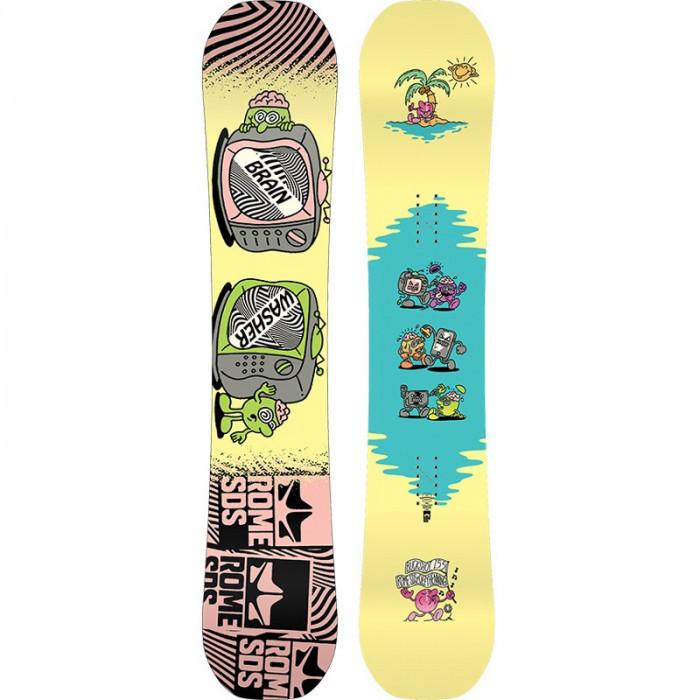 Placa Snowboard Rome Buckshot Ozzy 155 2020