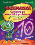 Matematica, clasa a IV-a. Culegere de exercitii si probleme dupa noua programa
