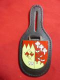 Insigna Militara produsa in Germania - Regiment 35 , metal si email ,h=4cm