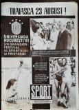 REVISTA SPORT NR 8 - AUGUST 1981
