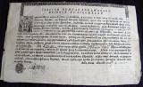 1845 Vechi document bisericesc Ilarion Episcop al Argesului, sigilii si filigran