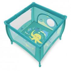 Baby Design Play UP 05 Turqouise 2018 Tarc de joaca cu inele ajutatoare