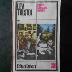 LEV TOLSTOI - COPILARIA, ADOLESCENTA, TINERETEA