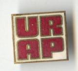 Insigna veche Industrie - Aniversare URAP