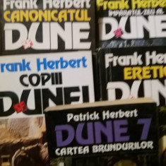 FRANK HERBERT  SERIA DUNE PLUS  CARTEA BRUNDURILOR  VOL 7