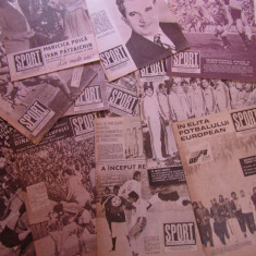 Colectie completa revista SPORT - 12 numere anul 1984