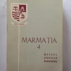 Monografie: MARMATIA vol 4 / Muzeul judetean Maramures, 1978, 540 pagini
